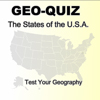 GeoQuiz - the states of the usa A Free BoardGame Game