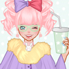 Create your own lolita fashion,dress up with frilly clothes and accessories.