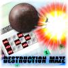 Destruction maze A Free Action Game