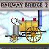 Cool game type of bridge construction. Build railway bridges, open new levels and trains (4 different trains).