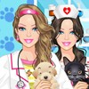 Barbie Pet Doctor A Free Dress-Up Game