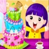 The birthday of your best friend is coming. What will you send her as her birthday present. How about design a three-tiered cake for her? She must be moved by you. Let`s get it started!