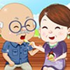 Grandparents Ice Cream Date  A Free Dress-Up Game