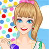 Summer Beautiful Parasol A Free Dress-Up Game