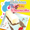 Delicious chocolate cheesecake