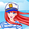 Do you like the sea?Do you ever dreamed to be a sailor?Youthful and lovely,sailor style is always one of the most popular dress styles for girls.Let`s dress up yourself like a sailor girl!