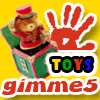 gimme5 - toys A Free Puzzles Game