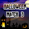 In this Halloween game your task is to create groups of 3 or more of the same items in a horizontal or vertical direction.