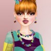 Dress up Estella, the fashion model, with these clothes and accessories.
