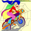 Kid`s coloring: Trick or treat is free coloring page. Happy Halloween!