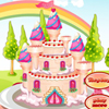 We did a second princess castle cake game because the first one was so popular and liked by you so we didn`t have the choice to make a second one. With that game, you can add many variations of things on the cake.