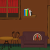 Turkey House Escape is a type of point and click room escape developed by GAMES2RULE.COM. A turkey is trapped in an old house; the exit door of the room is locked .You want to help the turkey to escape from the house by finding useful hint and objects. Happy Thanks giving day.