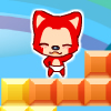 Rainbow fox A Free Action Game