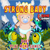 You`re a very strong baby. Upgrade your weapons, your lives, your jump and your rocket fuel. Fly and jump over your enemy`s and shoot them to earn your points. Instructions: Move with `WASD` and shoot with the spacebar