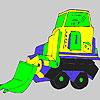 Bigger truck coloring Game.
