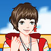 City Fashion Girl Dress up game.