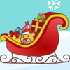 The holiday season is near! Can you arrange transport for the Santas so that they can deliver the presents effectively? Your goal in this game is to give each Santa a sleigh so that each of the sleighs belongs to one Santa only. When the game starts, a number of Santas will be placed on a 8x8 grid. The numbers outside the grid indicate the quantity of sleighs that should be placed in each of the rows and columns. A sleigh should be horizontally or vertically adjacent to the Santa it belongs to, and the sleighs should not be horizontally, vertically or diagonally adjacent to each other. You can click an empty block to place a sleigh, or click the snowy block on the right of the grid to mark a square which does not contain a sleigh. The time you have spent will be recorded at the top right corner of the screen. Give the Santas a helping hand and they will surely reward you with fantastic gifts!