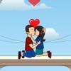 Balcony Kiss
