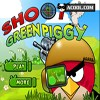 shoot green piggy A Free Shooting Game
