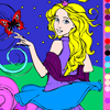 Paint a beautiful princess A Free Customize Game