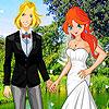 Bloom Sky Wedding Dress up game.