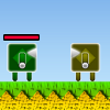 Cube Green Men 2 A Free Action Game