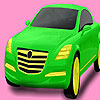 Bright pistachio car coloring