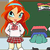 Chibi Bloom School Girl A Free Dress-Up Game