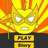Super Appleman Yellow Warrior