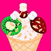 ice cream decorating game.