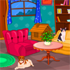 Can you help to decorate Collie's pet's home? She has got new furniture and lots of new accessories for their new home. Decorate the pet's home with beautiful matching and vibrant colors.
