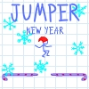 In doodle Jumper world came New Year. Help Jumper to get as far as possible and score maximum points, for this, collect Christmas toys and avoid sharp spikes.
