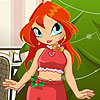 Bloom Doll Christmas Dressup A Free Dress-Up Game