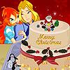 Bloom Sky Christmas Cake Decoration Game.