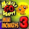 Monkey GO Happy Mini Monkeys 3 A Free Adventure Game