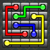 Who will be the master of stream master, Connect matching colors with pipe, Pair all colors, and cover the entire board to solve each puzzle, with Unlimited levels.