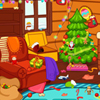 The house is a mess and santa is coming so you have to clean the house. Be sure to put everything in place before santa is coming for christmas. You will have a limited time for that so hurry up :)