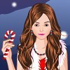 Candy`s Christmas Party Dress Up A Free Dress-Up Game