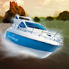 3D Motorboat A Free Action Game