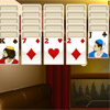 New colorful game for all fans of interesting puzzles and solitaire by Play-Free-Arcade.com. Your goal is to clear the tableau. Place the cards in a descending order starts with K and ends in A. Click on a stack to open new cards, if you have no steps available. This game have excellent graphic and addictive gameplay.