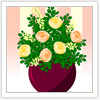 Roses Arrangement A Free Dress-Up Game