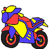 Hot ready motorbike coloring
