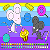 Mice coloring