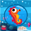 Help seahorse to reach home which his friend awaits. In this 16 levels to explore. Don`t forget to collect Shells you found in the way.