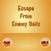 Games Novel - Orange Ball is the thief and blue balls are police! Don`t let the blue ball catch you!