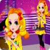 Sparkling  Party Queen A Free Dress-Up Game