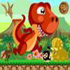 Help Dino to collect the coins while reaching the finish line. Move your mouse left and right to move him backward and forward.  don`t let Dino fall, and Beware of the enemies!  avoid them by jump over them, or kill them by jump and land on them.