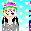 Winter Fashion Dress up game.