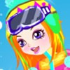 Skiing Beauty A Free Dress-Up Game