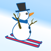 Snowman Skiing A Free Action Game